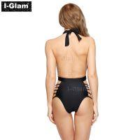 I-Glam Black Sexy One-piece Bikini Swimwear