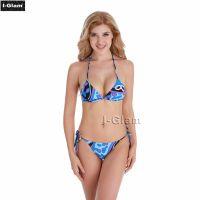 I-Glam Dream Printed Sexy Women Brazilian Bikini Swimwear