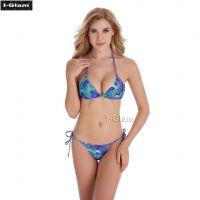 I-Glam Printed Sexy Women Brazilian Bikini Swimwear