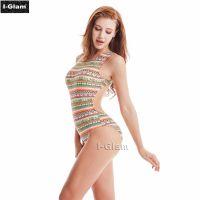 I-Glam Printed One-piece Sexy Bikini Swimwear