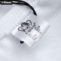 I-Glam White Sexy One-piece Swimwear