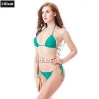 I-Glam Green Sexy Women Brazilian Bikini Swimwear