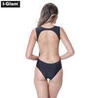 I-Glam Black Sexy One-piece Swimwear