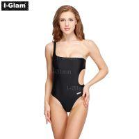 I-Glam Black One-piece Sexy Bikini Swimwear
