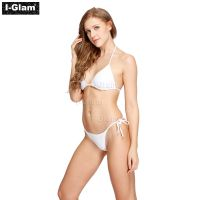 I-Glam White Sexy Women Brazilian Bikini Swimwear
