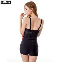 I-Glam Black Sexy Women Tankini Swimwear