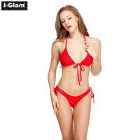 I-Glam Red Sexy Women Bikini Swimwear