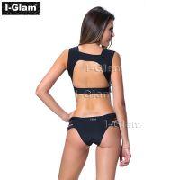 I-Glam Black Sexy Two Piece Women Brazilian Bikini Swimwear