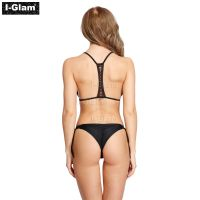 I-Glam Black Sexy Women Bikini Swimwear