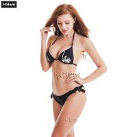I-Glam Sexy Black Women Bikini Swimwear