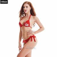 I-Glam Sexy Red Women Bikini Swimwear