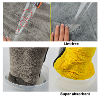 Heavy duty microfiber drying cloth