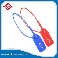 Numbered New Design Strong Plastic Container Security Seal Strip For Packing One Time Use Lock