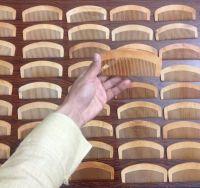 100% Wooden Hair Combs | Custom Logo