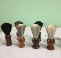Horse Bristles Shaving Brushes | Wooden & Steel