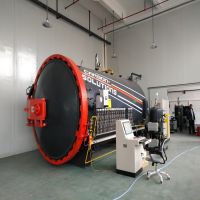Industrial pressure vessel 1.0mpa automatic door operating composite autoclave
