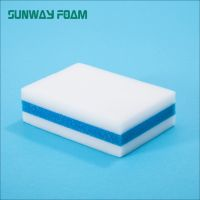 Sunway Wholesale  complex melamine Sponge with PU