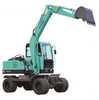 Hydraulic Bucket Wheel Excavator TM75W-9 6ton