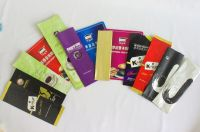Various coffee, milk tea instant drink packaging pouches