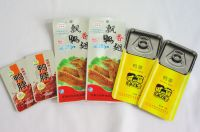 Pre-cooked meat, roast duck/chicken high barrier packaging soft tin retort pouch