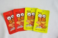 Fried Tofu, dried bean curd, fried fish high barrier packaging 3-sides-seal retort pouch