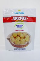 Fried potato chips, pop-corn, puffed food packaging stand up zipper pouch