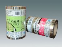 Bean paste cake, dates-filled cake individual pack automatic packaging film in roll