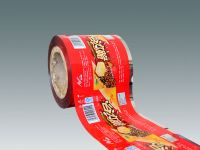 Wafer, sandwich biscuits, puffed crackers automatic packaging film in roll