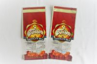 Toffee, chocolate milk candy packaging holographic finishing stand up pouch