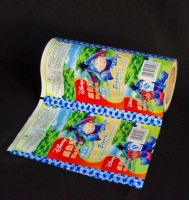 Shortcakes, butter cookies outer packaging centre-seal side gusset pouch
