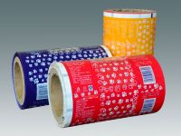Various sweets, candies, confectionery snack automatic packaging film in roll