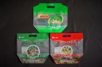 Chicken bag, frozen meat sales packaging flat bottom zipper pouch