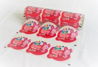 Jelly cup, pudding cup automatic or manual top web packaging lidding film