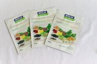 Soya bean powder, rice powder, protein powder packaging matt stand up zipper pouch