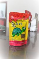 Tortoise food, fish food, bait packaging stand up zipper pouch