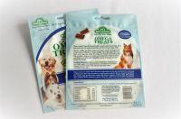 Dog food, pet food small volume packaging matt stand up zipper pouch