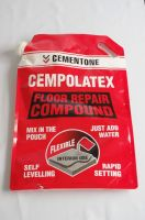 Concrete, cement, floor compound heavy-duty packaging handle stand up pouch with nozzle