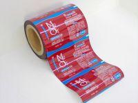 Shampoo, shower gel, conditioner sachet packaging film in roll