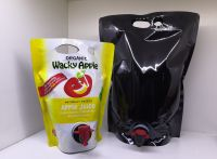 Juice / Wine / Oil Heavy-duty Packaging Stand Up BIB with Butterfly Tap