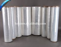 heat plastic shrink packing clear plastic PE PVC POF Shrink Film