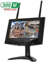 720P 7inch Wireless LCD Monitor support SD Card, Free APP for Smartphone