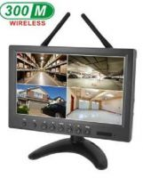 9inch Wireless LCD DVR support TF Card, Free APP for Smartphone