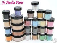 Jc Nadia Minerals Mineral Powder Eye Colour Pigment as good as MAC
