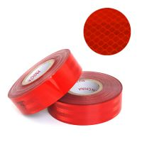 Red Color Conspicuity Marking Tape Reflective Tape for Trucks