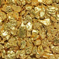 Kenyan Gold Nuggets - 350 Kilograms Metal Boxes Packaging