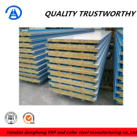 Fire proof Rockwool Sandwich Panels