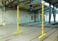 2 ton Clescrane chain hoist gantry crane