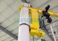 Pillar Mounted Slewing Jib Crane manufacturer in china