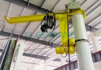 Pillar Mounted Slewing Jib Crane manufacturer in china