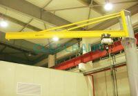 Clescrane 5t Pillar Mounted Slewing Jib Crane